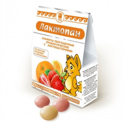 Конфеты обогащенные пробиотические Лактопан  г. Самара